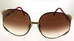 Dior 80s Oversized Bug Eye Style Sunglasses