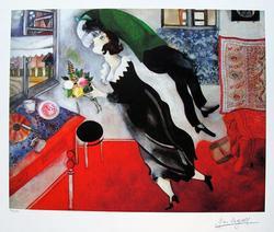 Limited Edition Marc Chagall Birthday