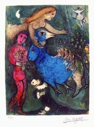 Limited Edition Marc Chagall Circus Frontispiece