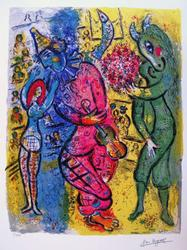 Limited Edition Marc Chagall Circus II