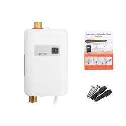 220V 3.8KW LCD Electric Tankless Instant Hot Water