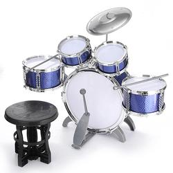 Kids Jazz Drum Set Kit Musical Educational Instrument