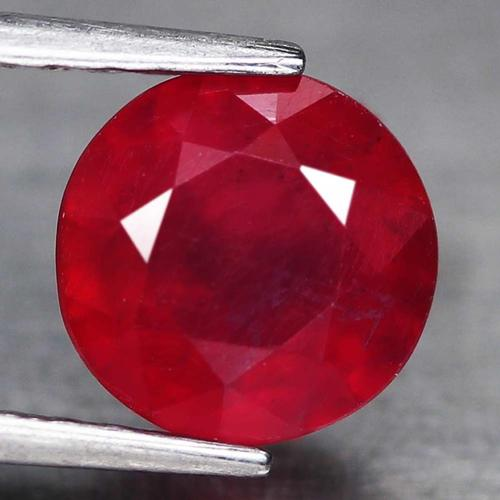 Captivating 2.91ct top red Ruby solitaire