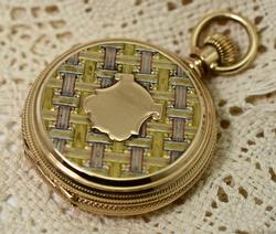 High End Tri-Color Gold Pocketwatch