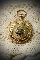 Gorgeous 14k Ladies Pocketwatch