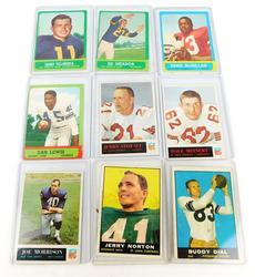 9 - 1960's Football Cards