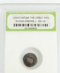 330 A.D. Roman Empire Coin