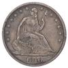 1846 Seated Liberty Half Dollar - Circulated