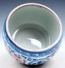 Porcelain Blue & white Ox Blood Red Dragons Pot Jar