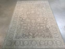 Magnificent Blend of Vintage and Handmade Area Rug 5x8