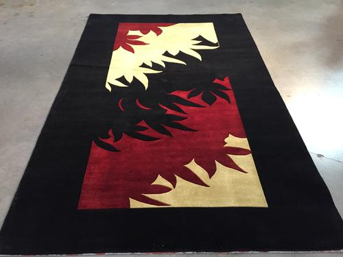 Magnificent Hand woven Modern rug 6x9
