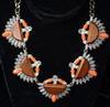Stylish Set Of Fashion Jewelry Neck Lace & Earrings