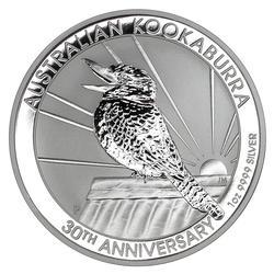 Australian Kookaburra 1oz Silver 2020