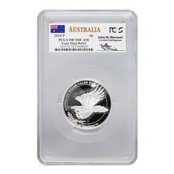 Australia 5oz Wedge-Tailed Eagle 2014-P PR70DCAM PCGS