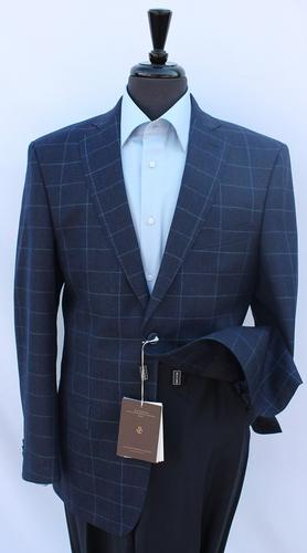 One Of A Kind Slim Fit Flannel Sport Coat