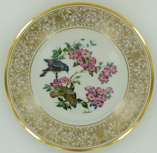 Collector's Fine China with 24 kt Gold Details
