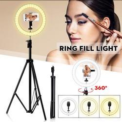 Ring Light Tripod Stand Selfie Stick Holder USB