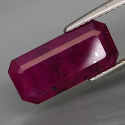 Pigeons blood red unheated 5.90ct Guinea Ruby
