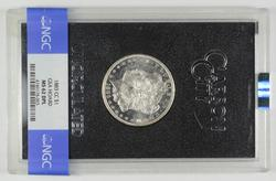 MS62 DPL 1883-CC Morgan Silver Dollar - GSA Hoard - Graded NGC