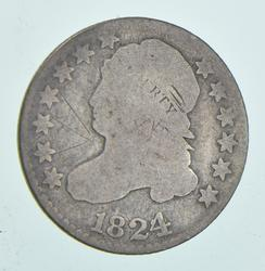 1824/2 Capped Bust Dime