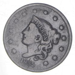 1835 Young Head Large Cent