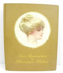 1911 Fair Americans by Harrison Fisher