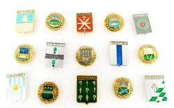 15 Russian Coat of Arms Pins