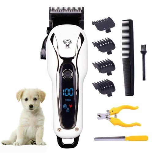 Pet Hair Trimmer Rechargeable Grooming Tool Kit