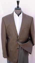 Comfort Fit Wool & Cashmere Houndstooth Blazer