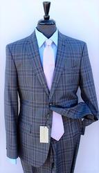 An Eye Catching Italian Made Plait Suit