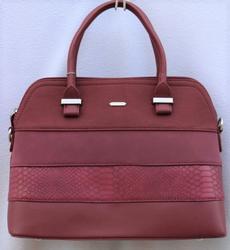 New Arrival Burgendy Hand Bag By David Jones