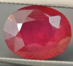 Large 9.00 Carat Ruby Loose Natural Gemstone