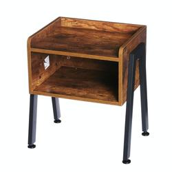Wooden Table Cabinet Side Table