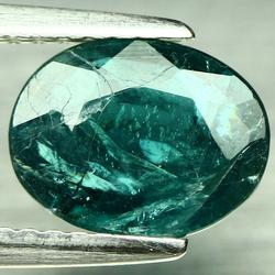 Strong blue green 1.32ct untreated Grandidierite