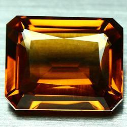 Ravishing 26.17ct top Madeira created Citrine