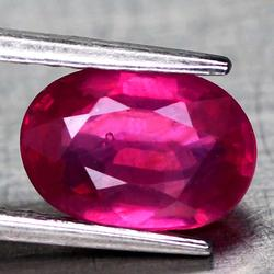 VIVID! 2.02ct oval cut Mozambique Ruby
