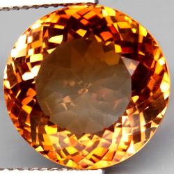 Brilliant 14.75ct flawless Imperial Topaz solitaire