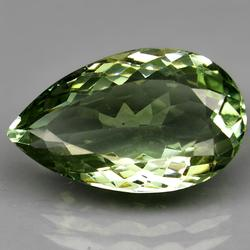 Glittering 18.11ct untreated green Amethyst