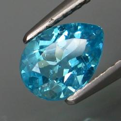 Superb 1.04ct untreated Paraiba blue Apatite