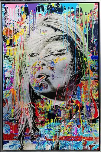 Bright Beautiful Original by Pop art Artist Oliver Neilson