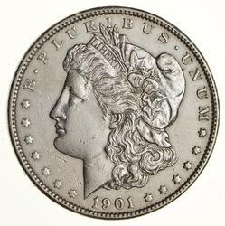 1901 Morgan Silver Dollar - Near Uncirculated