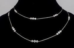 KWIAT 4.74CTW Diamond Strings Necklace