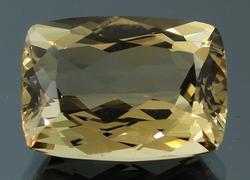 Tremendous 18.26ct burnished gold Beryl
