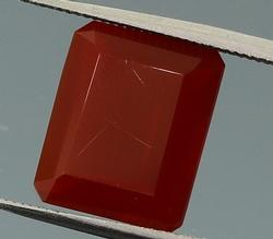 Top blood red 2.47ct untreated Fire Opal