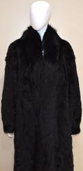 Very Fine Quality Ranch Mink Coat with Fox Tuxedo