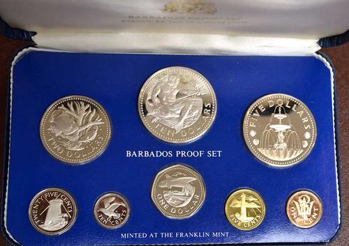 1975 Barbados Proof Set