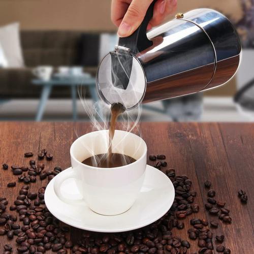 9 Cup Espresso Percolator Coffee Stovetop Maker