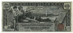 Real nice scarce 1896 Series Large Size $1 Silver Cert