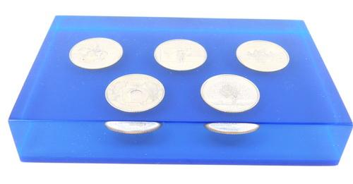 1999 State Quarters Paperweight