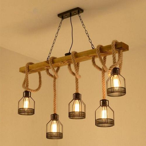 5PCS Nordic Pendant Lights Glass Pendant Lamps